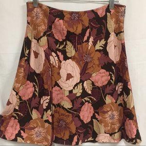 Ann Taylor Loft Midi Skirt Size 8